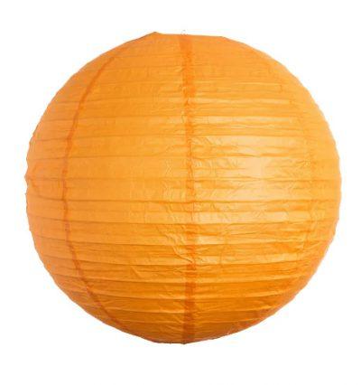 papír lampion narancs