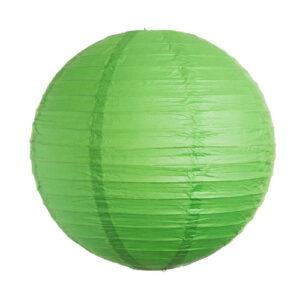 lampion zöld színben