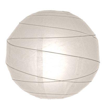 lampion fehér 30 cm