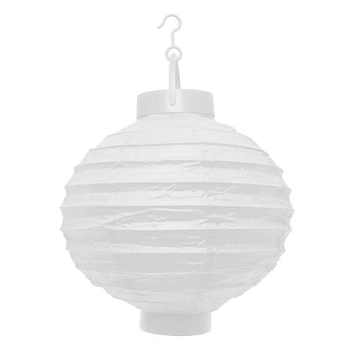 LED lampion fehér