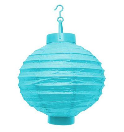 LED lampion kék