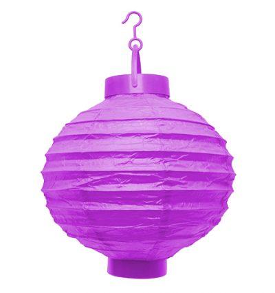 LED lampion lila