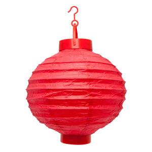 LED lampion piros