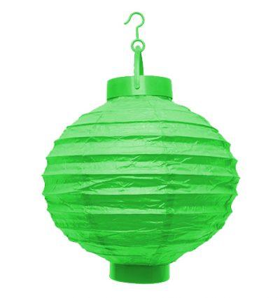 LED lampion zöld
