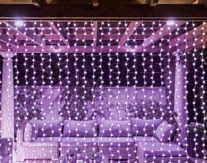 világító függöny