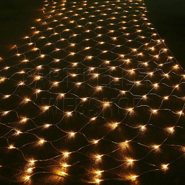 kültéri led fényháló