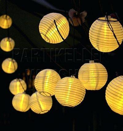 Hálózati LED lampionfüzér