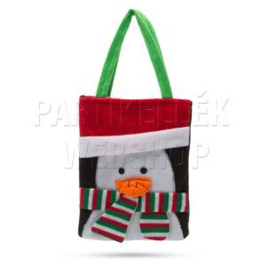Karácsonyi táska 3d pingvin