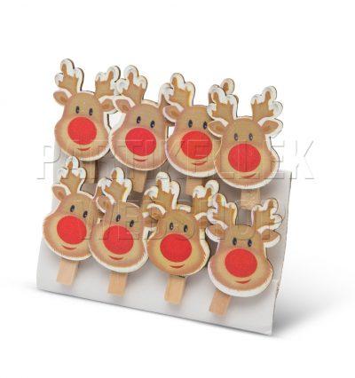 karácsonyi csipeszfigurák