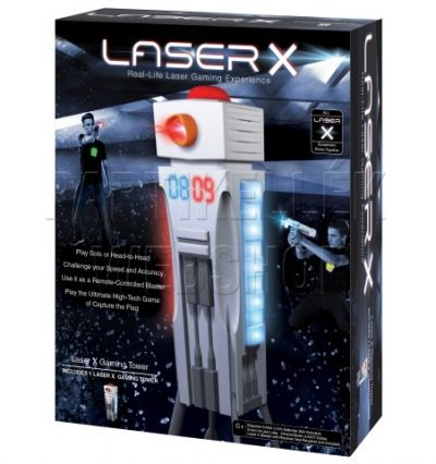 Laser X torony