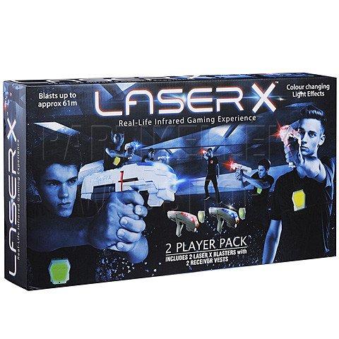 Laser-x lézerfegyver dupla szett