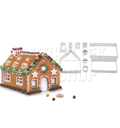 Mézeskalács ház kiszúró