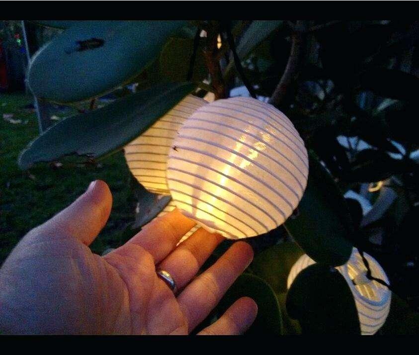 lampion műanyag