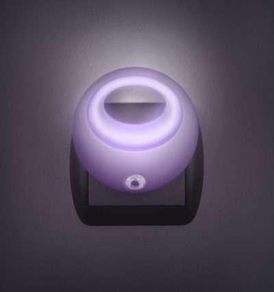 irányfény lila