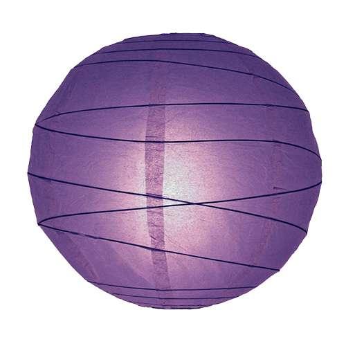 papír lampion lila szabálytalan