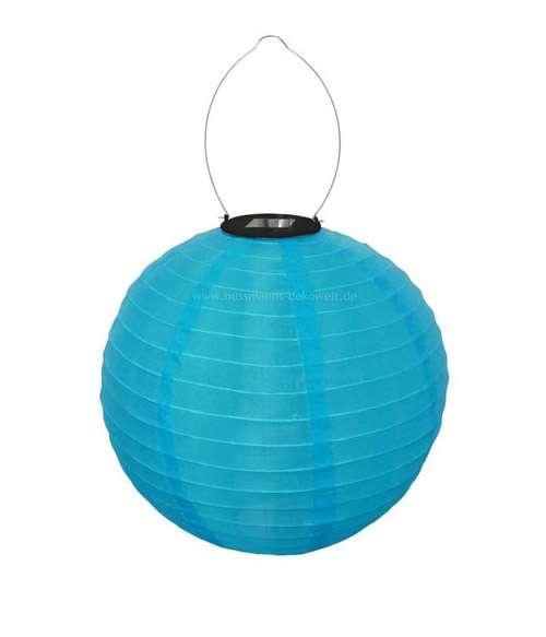 kék led lampion