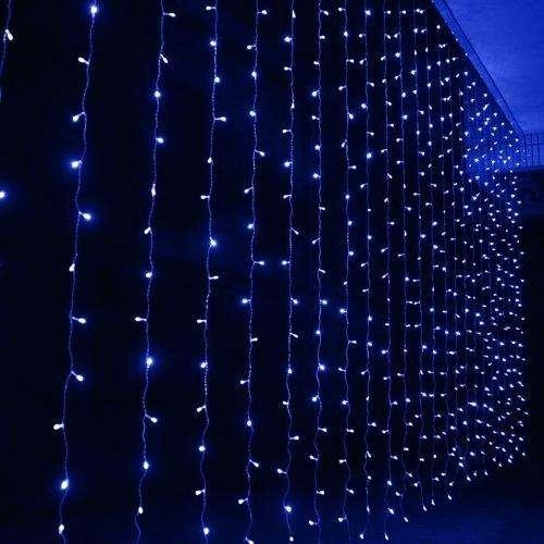 kék fényfüzér
